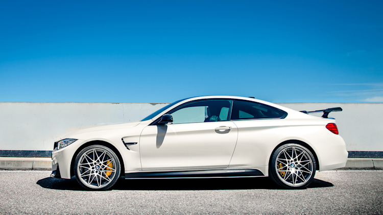 BMW M4 Competition Sport side view