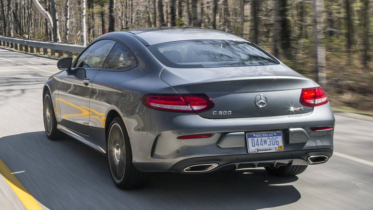 2017 mercedes benz c300 coupe first drive autoblog for Mercedes benz c300 review 2017