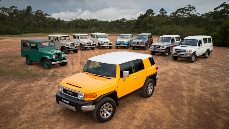 Toyota FJ Cruiser and its Precursors