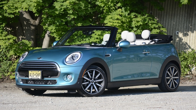 2017 Mini Cooper Convertible front 3/4 view