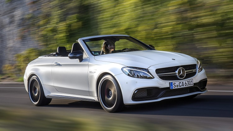 2017 mercedes benz c class cabriolet first drive autoblog. Black Bedroom Furniture Sets. Home Design Ideas