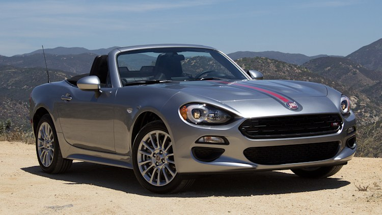 2017 fiat 124 spider first drive autoblog. Black Bedroom Furniture Sets. Home Design Ideas