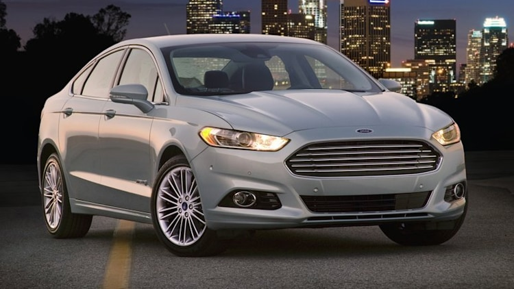 2. Ford Fusion Hybrid - 7.6 cents per mile