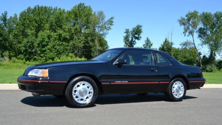 eBay Find of the Day 1987 Ford Thunderbird Turbo Coupe is