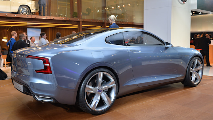 volvo concept coupe may see limited production autoblog. Black Bedroom Furniture Sets. Home Design Ideas