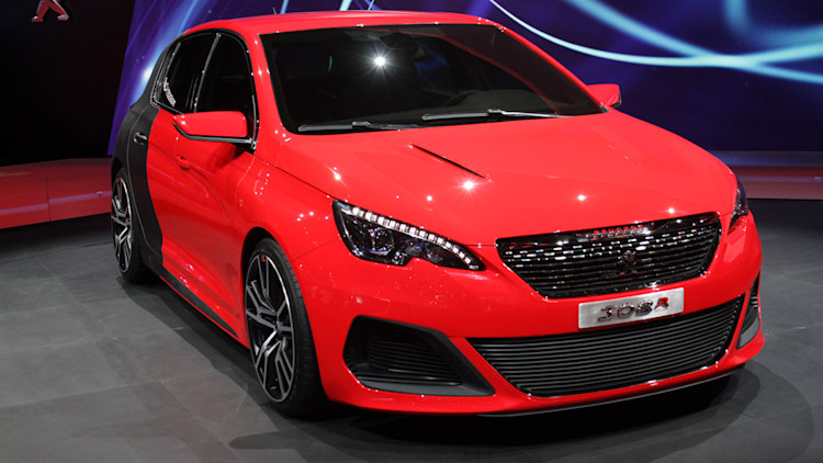 peugeot 308 r concept does that super hot hatch thing autoblog. Black Bedroom Furniture Sets. Home Design Ideas