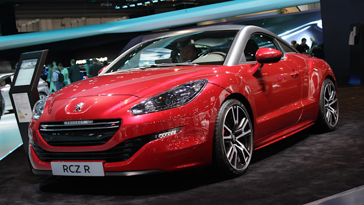 peugeot rcz r brings more than just an extra consonant to frankfurt w video autoblog. Black Bedroom Furniture Sets. Home Design Ideas