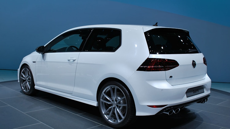 VW Golf R gets super serious with near 300 HP wvideo  Autoblog