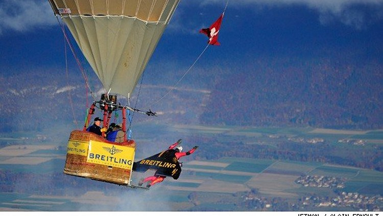 Jetman Hot Air Balloon Flight
