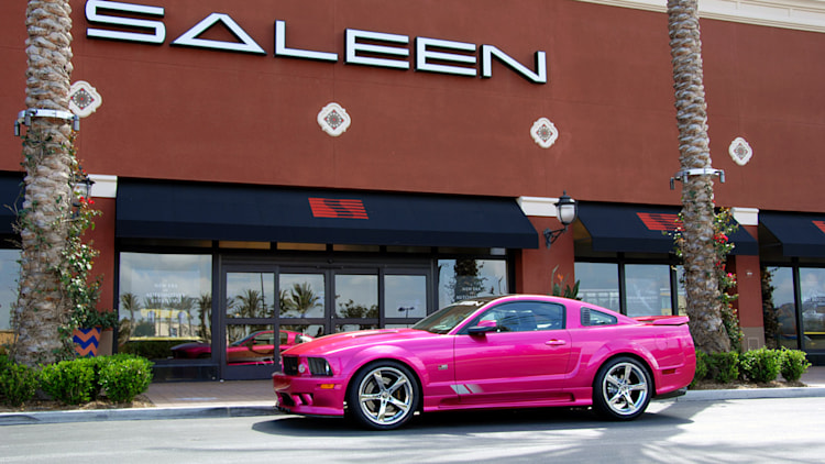 Saleen Molly Pop Mustang Has Its Owner Tickled Pink Autoblog