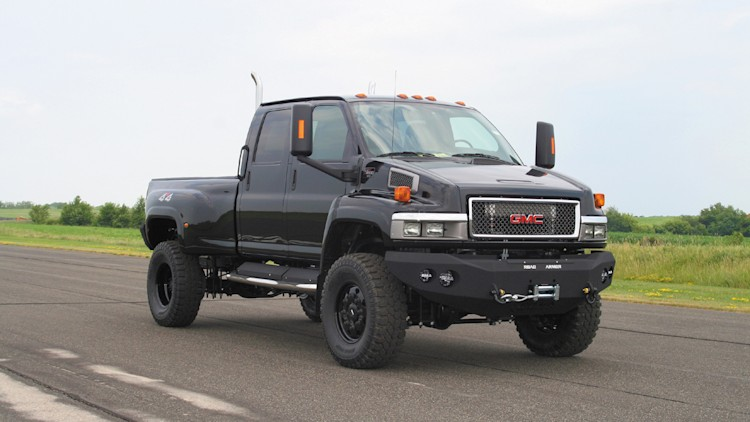 Ironhide Edition Gmc Topkick 6500 Pickup By Monroe Truck