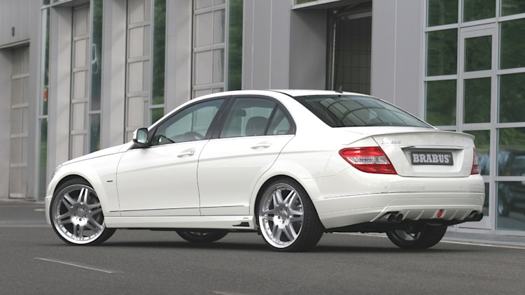 brabus punches up the mercedes benz c220 cdi autoblog. Black Bedroom Furniture Sets. Home Design Ideas