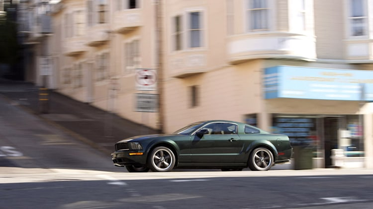 first drive 2008 ford mustang bullitt day 1 autoblog. Black Bedroom Furniture Sets. Home Design Ideas