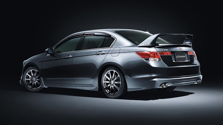 Mugen Modifies Honda Accord Creates The Inspire Autoblog