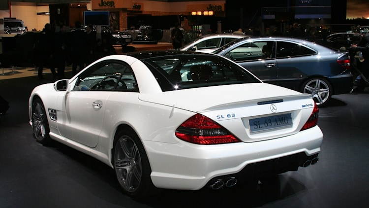 2009 Mercedes Benz Sl63 Amg Sl65 Amg Photo Gallery