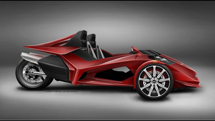 Redesign Proposed For T Rex Trike Autoblog