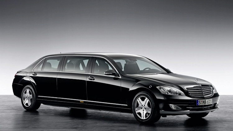 Mercedes benz s600 guard pullman limousine photo gallery for Mercedes benz s guard for sale