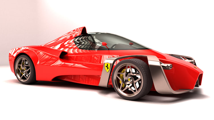 Ferrari Zobin Concept Photo Gallery - Autoblog