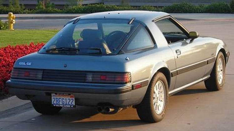 Auction of the Day Mint 1984 Mazda RX7 GSLSE for a good cause