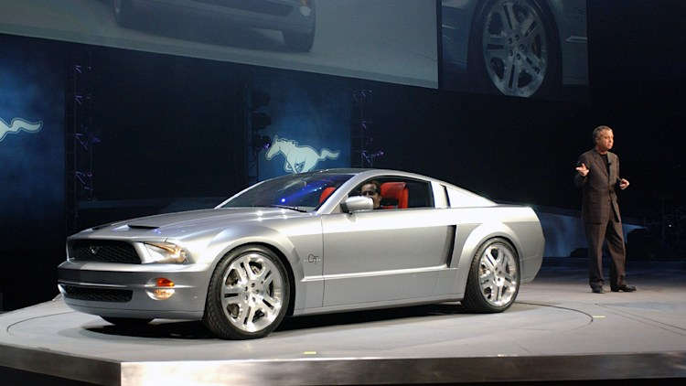 ford mustang gt  convertible concept photo gallery autoblog
