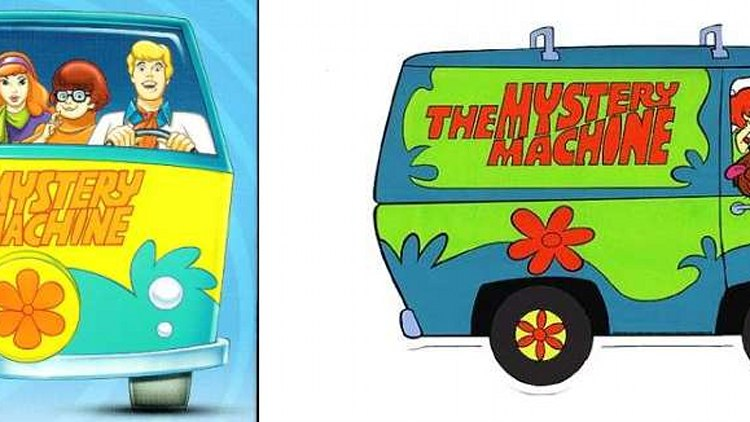The Mystery Machine - Scooby-Doo, Where are You!
