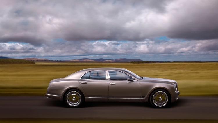 Bentley Mulsanne specs finally revealed in detail  Autoblog