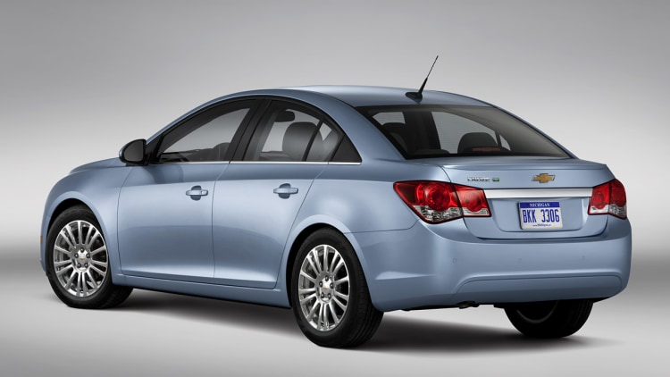 2011 Chevrolet Cruze Eco Rated At 42 Mpg Highway Autoblog