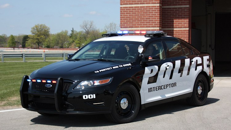 ford 39 s taurus based police interceptor getting more power to catch. Cars Review. Best American Auto & Cars Review