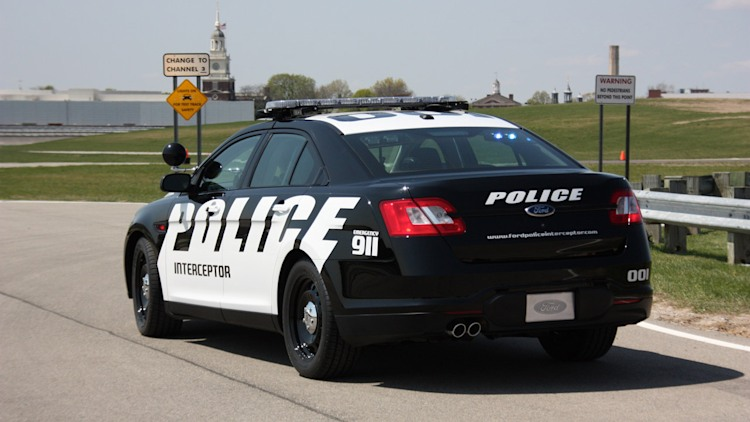 Ford's Taurus-based Police Interceptor getting more power to catch