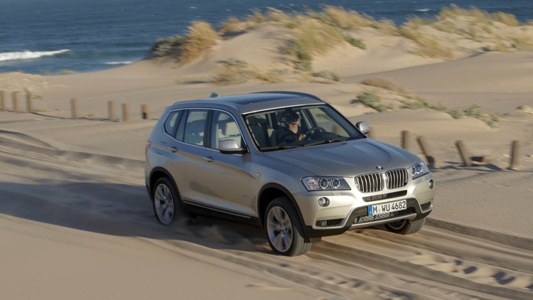 paris 2010 bmw x3 is new yet familiar autoblog. Black Bedroom Furniture Sets. Home Design Ideas