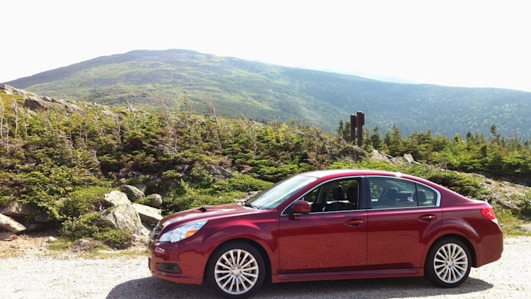 2010 Subaru Legacy 2.5GT on Mt. Washington