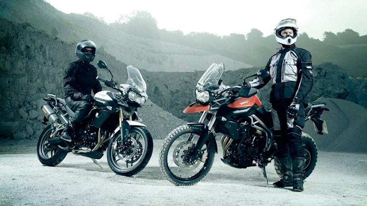 2011 Triumph Tiger 800 and 800 XC