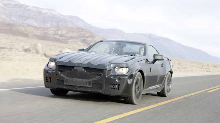 2012 Mercedes-Benz SLK Testing in Death Valley