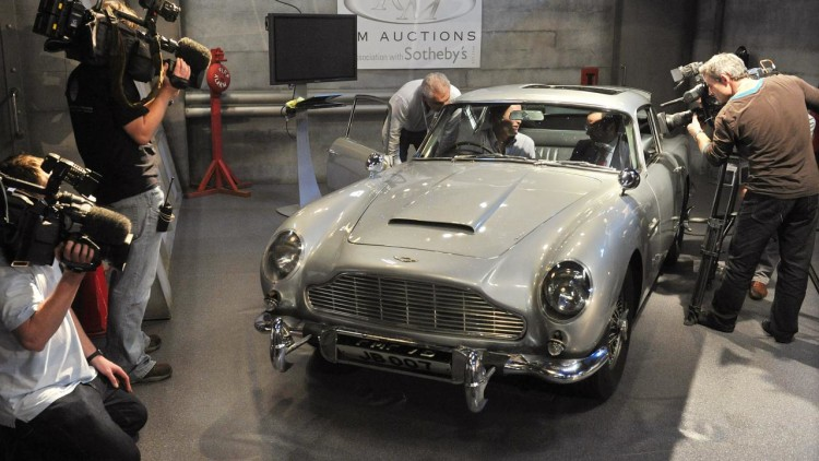 James Bond's 1964 Aston Martin DB5
