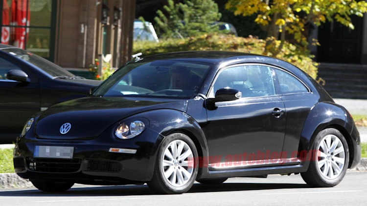 2012 Volkswagen Beetle spy shots