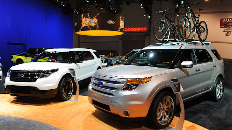 Custom 2011 Ford Explorers