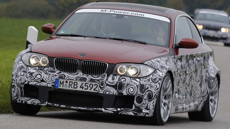 2012 BMW 1-Series M Coupe Prototype