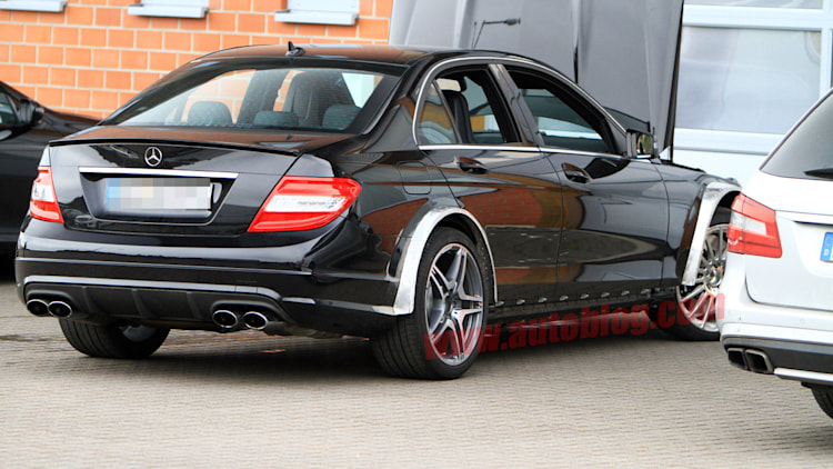Spy Shots: Mercedes-Benz C63 AMG Black Series