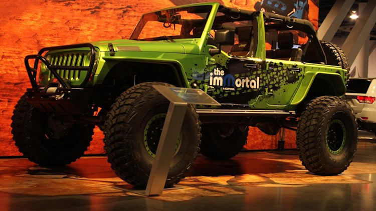 SEMA 2010: Jeep Wrangler ImMortal