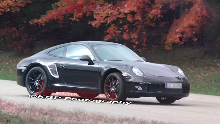 Porsche 911 Spy Shots