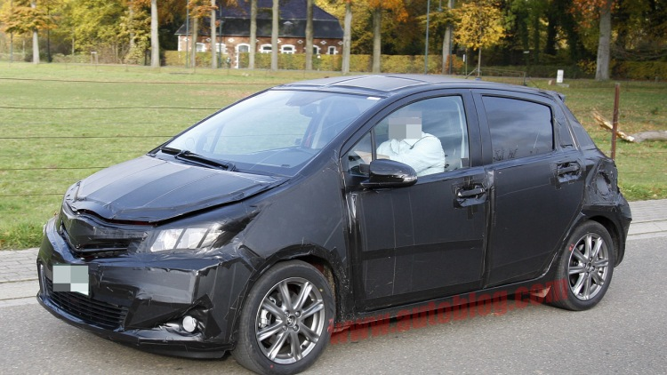 Spy Shots: 2012 Toyota Yaris