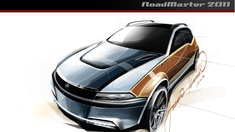 2011 Buick Roadmaster rendering from Top Gear USA