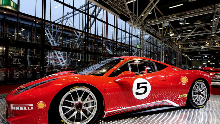 Ferrari 458 Challenge makes its world debut at the Bologna Motor Show