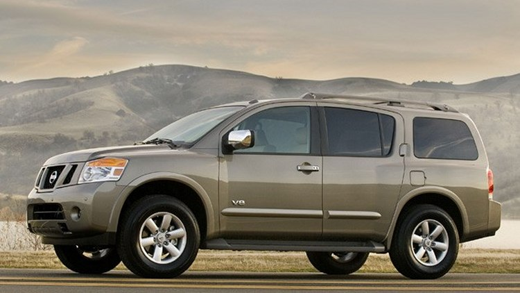 Canada's 10 Worst Selling New Cars in 2010: Number 10 - Nissan Armada