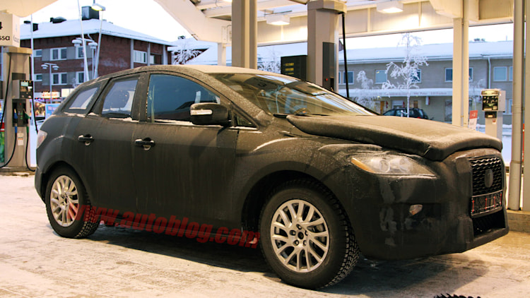 Mazda Small CUV spy shots