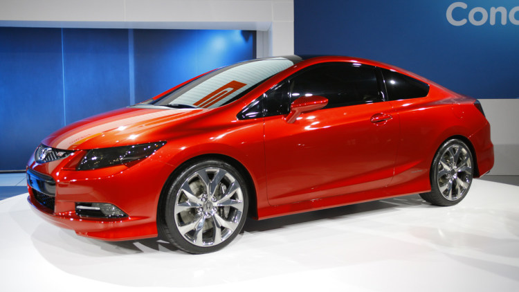 2012 Honda Civic Coupe Concept