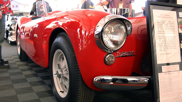 Barrett-Jackson 2011: 1955 Woodill Wildfire Turbine Convertible