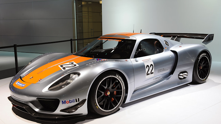 detroit 2011 porsche 918 rsr racer is a single seat dream w video autoblog. Black Bedroom Furniture Sets. Home Design Ideas