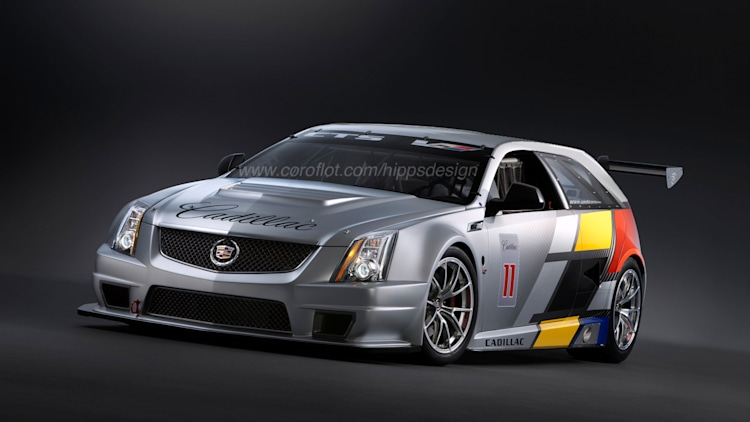 Cadillac CTS-V Sport Wagon race car