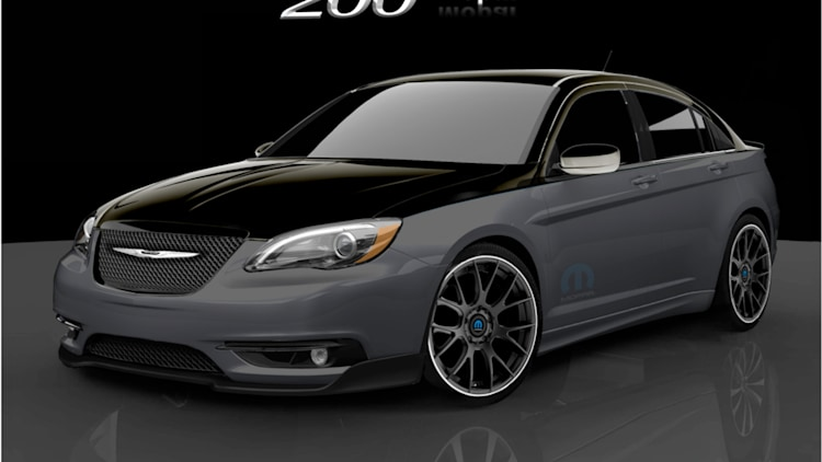 Moparized Chrysler 200